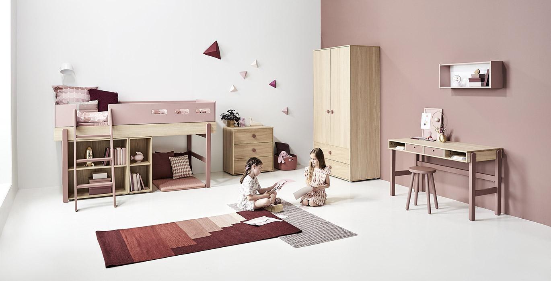 flexa popsicle lit chambre enfant meubles en bois flexa bruxelles. Black Bedroom Furniture Sets. Home Design Ideas