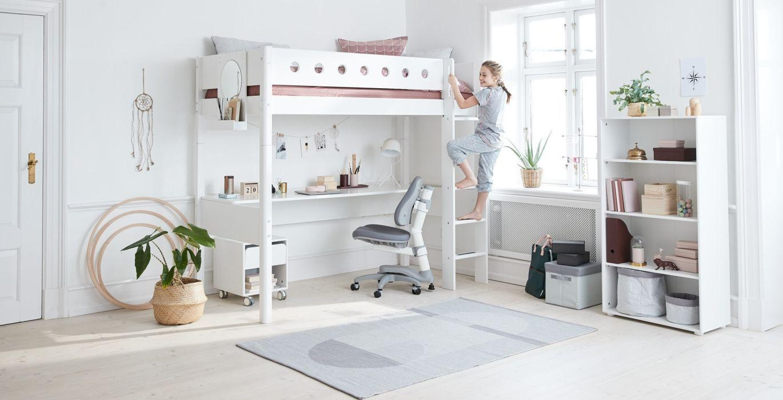 Chambre Ado Lit Mezzanine chambres enfants meubles evolutifs flexa belgique bruxelles