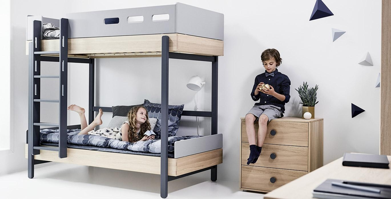 flexa popsicle lit chambre enfant meubles en bois flexa bruxelles. Black Bedroom Furniture Sets. Home Design Ideas