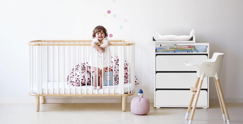 Chambre b b lits bois evolutif flexa design scandinave belgique flexa bruxe - Meuble enfant belgique ...