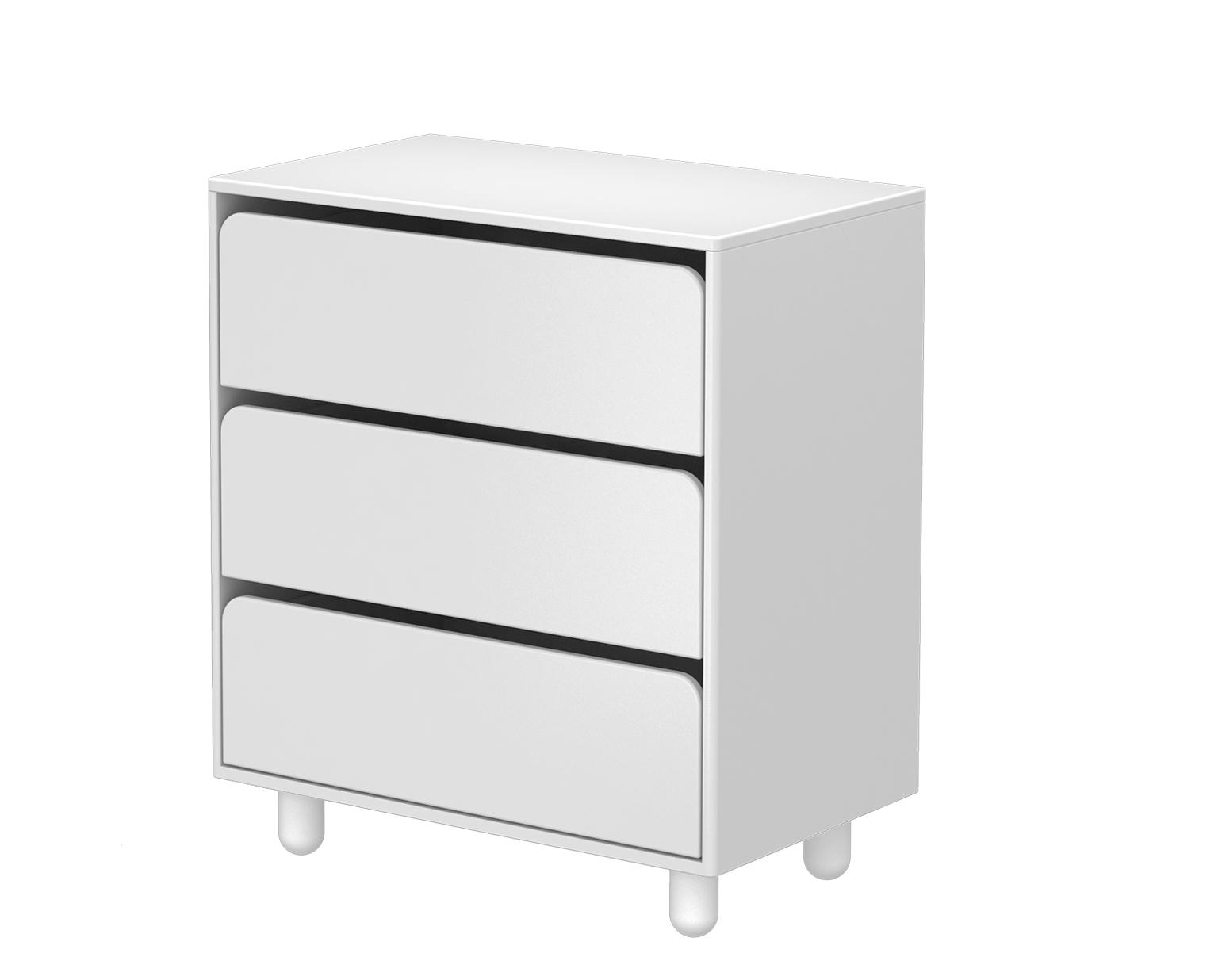 Cabby - Commode 3 tiroirs