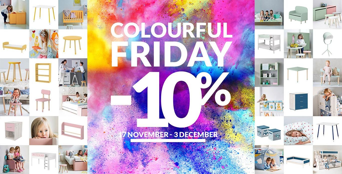 Colourful Friday ! -10% !