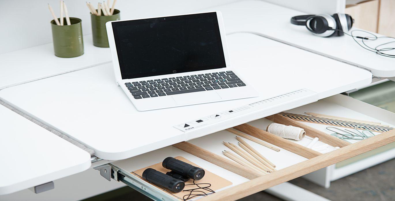 Impressionnant bureau ordinateur informatique pliable meuble pc